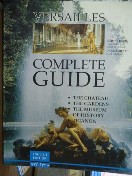 【書寶二手書T3/藝術_QXP】Versailles:complete guide_Simone