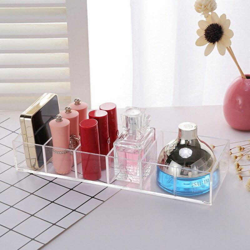 ❤️純 6格可拆式收納盒❤️壓克力粉餅  口紅  香水  眼影收納盒