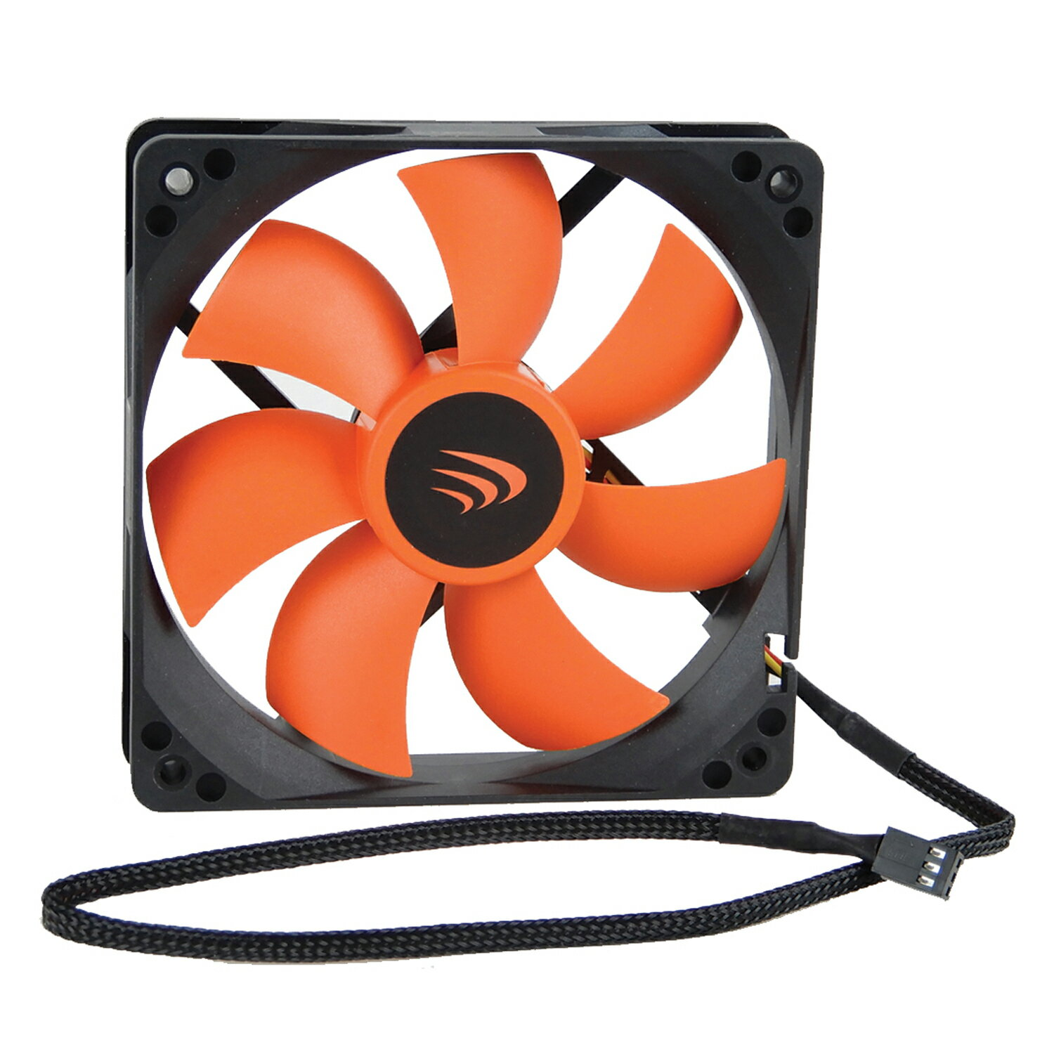 AAAwave 120mm Double ball bearing Silent Cooling Fan Compatible with CPU  Coolers, Water-Cooling Radiators, and PC Cases