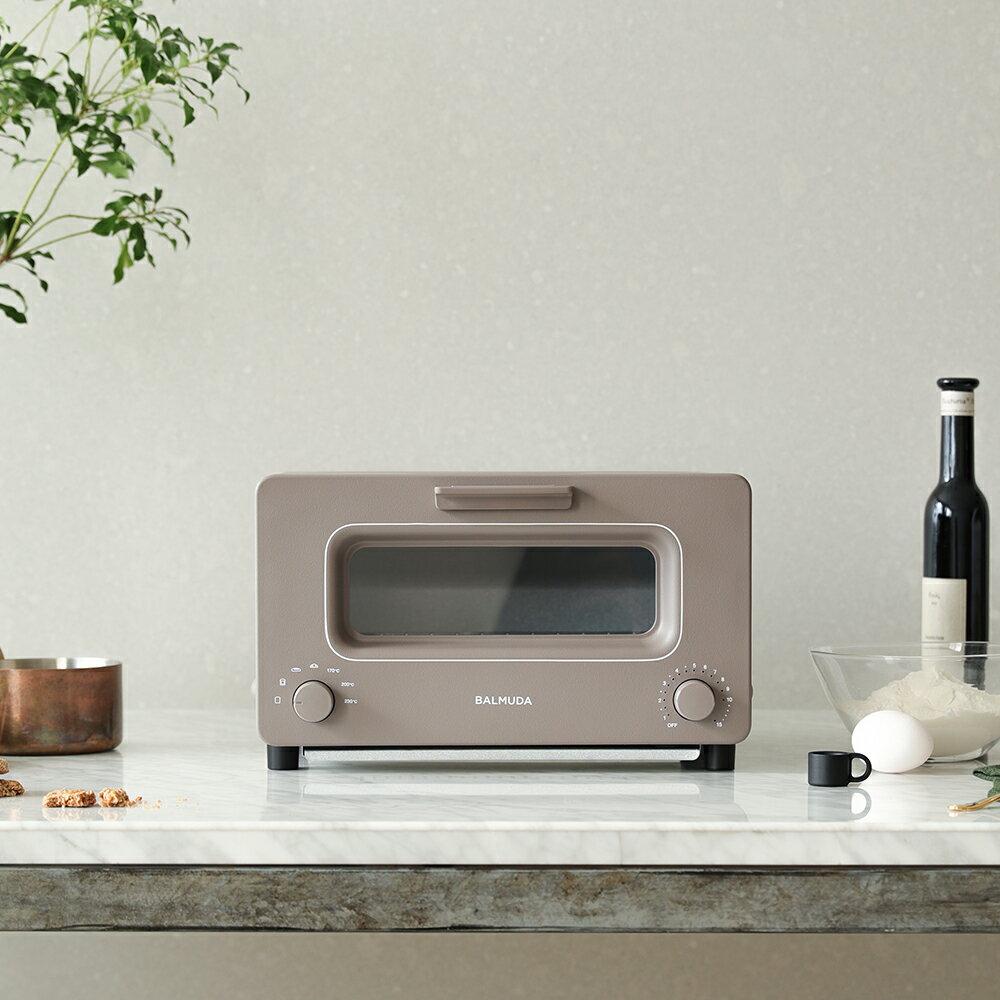 【限量可可色】BALMUDA K01J-KG 蒸氣 烤麵包機 可可 黑 白 K01J-KG 烤箱 百慕達 吐司神器