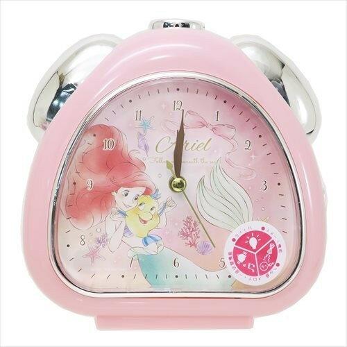 X射線【C063390】小美人魚Ariel鬧鐘-蝴蝶結,時鐘掛鐘壁鐘座鐘鬧鐘鐘錶手錶潛水錶