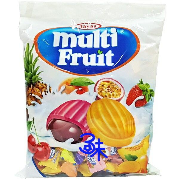 **最新到貨**(土耳其)Tayas 牛奶水果夾心糖 1包1000公克(200個) 特價 168 元【8690997167071】( Tayas multi Fruit) ( 聖誕糖 喜糖 活動用糖 不到1元糖果)