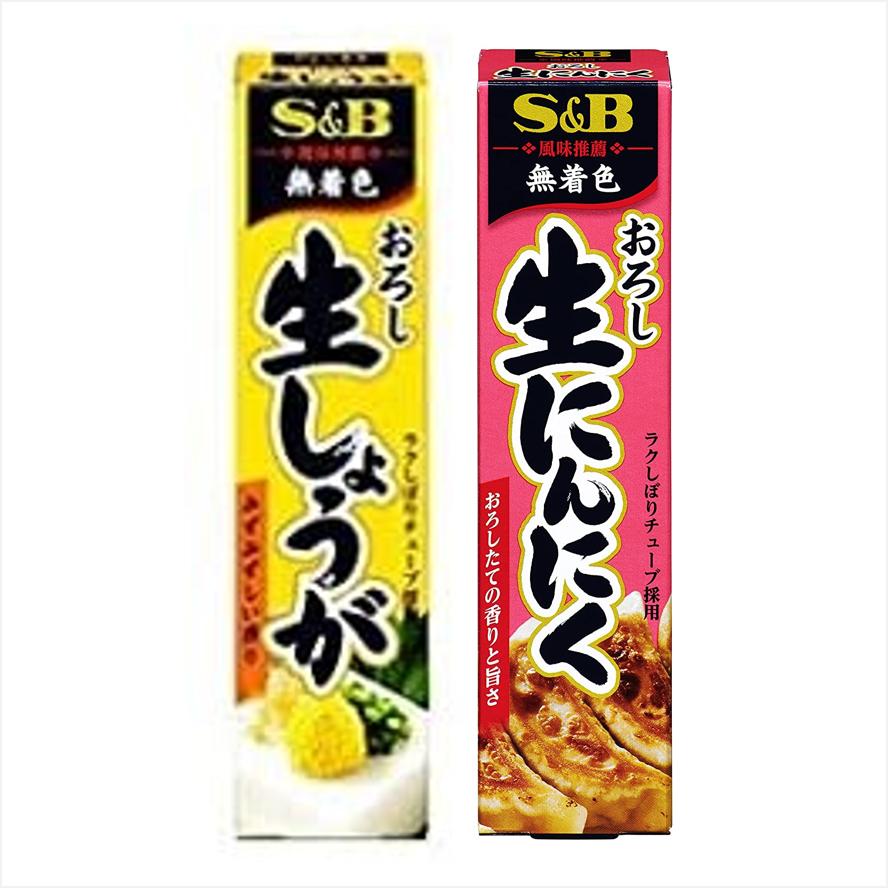 ☆即期良品出清☆日本 S&B 薑末條/蒜末條(請確認效期再下單)