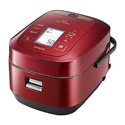 日本公司貨  日立 6人份 壓力蒸氣 IH電子鍋 鍛鑄鐵釜  壓力IH 電子鍋 HITACHI RZ-AW3000M 紅色  參考 RZ-YW3000TR日本必買代購