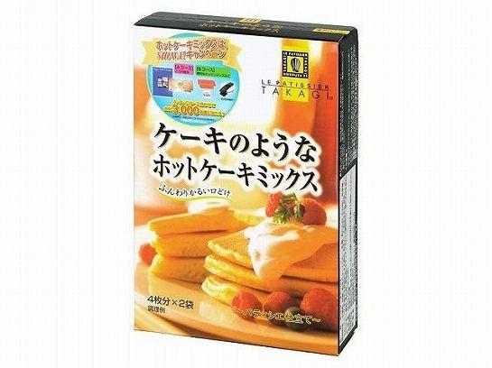 日本直送 TAKAGI 高木康政鬆餅粉400g(盒裝) (200克*2包)
