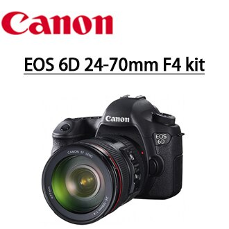 送副廠電池+快門線+遙控器+靜電 抗刮保護貼+清潔好禮套組  Canon EOS 6D 24-70 F4 kit 組 數位單眼相機 彩虹公司貨