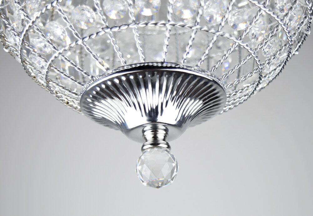 鍍鉻水晶圓形吊燈-BNL00104 2