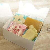 彌月禮盒推薦【一草一木】初生彌月手工皂禮盒 A款 (天然.環保.無毒)