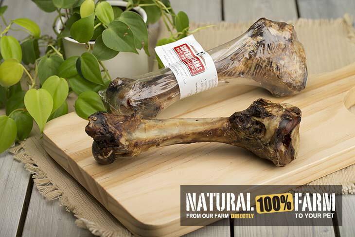 Natural Farm 自然牧場 天然羊腿骨 約20cm