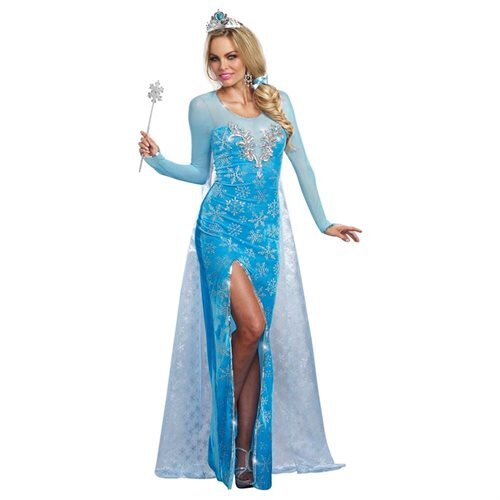 Ice Queen Adult Costume - Princess Costumes 0