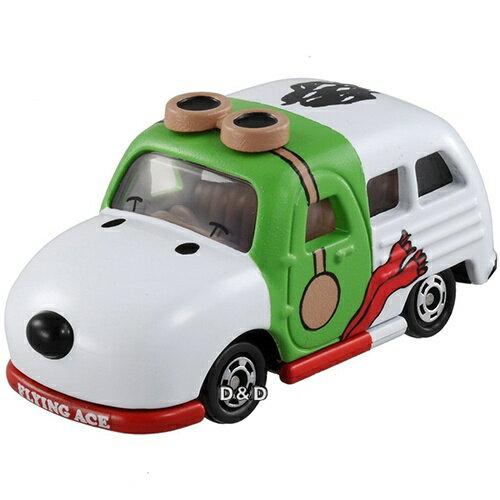 《 TOMICA 》夢幻小汽車 史奴比飛行小車