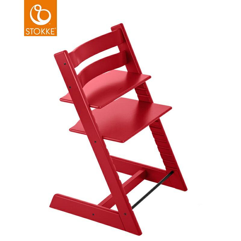 挪威【Stokke】Tripp Trapp 成長椅(紅色) 0