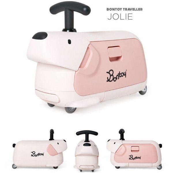 韓國 Bontoy Traveller 紅點設計美學騎乘行李箱(5款可選) 4