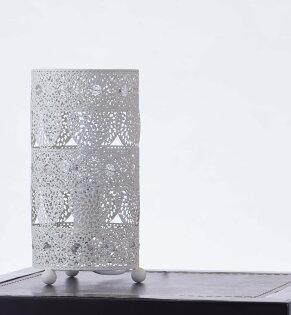 歐風米白色心形桌燈-BNL00036