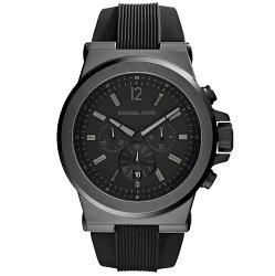 【MICHAEL KORS】正品 (男錶) Dylan系列競速方程式計時腕錶-黑【全店免運】 ARIBOBO 艾莉波波