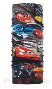 【【蘋果戶外】】BF117315西班牙BUFF魔術頭巾極速飆風迪士尼汽車總動員青少年兒童