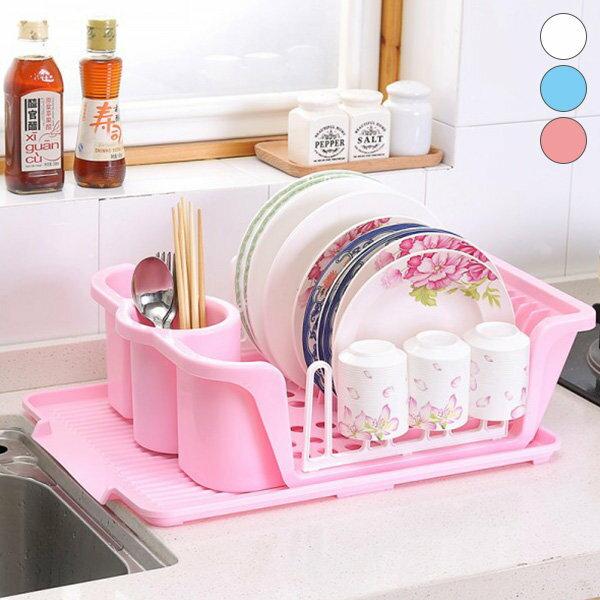 瀝水籃 水漕瀝水架 杯架 碗盤架 筷架 廚房收納【YV7451】快樂生活網