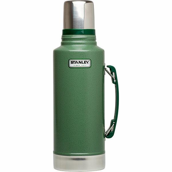 ├登山樂┤ 美國 Stanley 經典真空保溫瓶 1.9L - 錘紋綠 #10-01289-010