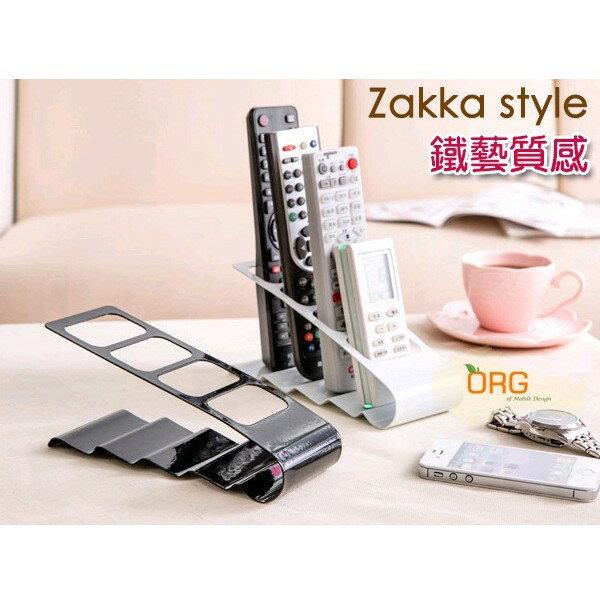 ORG《SD0590》Zakka 鐵藝更耐用~非壓克力 電視 冷氣 遙控器 手機 收納架 置物架 收納格 收納盒 DVD