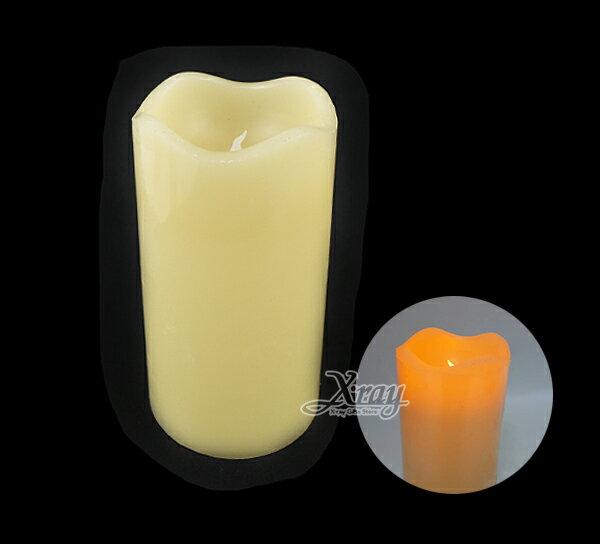 X射線【X059081】大號仿真蠟燭,聖誕節/萬聖節/蠟燭/擺飾/派對/燈飾/LED/夜燈/聖誕裝飾/萬聖裝飾/燈/小燈/聖誕燈/燈具