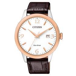 Citizen 星辰 Eco-Drive 光動能 動人時刻經典對錶 男錶 BM7304-16A 40mm
