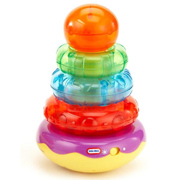 美國LittleTikes小泰可彩虹甜甜圈