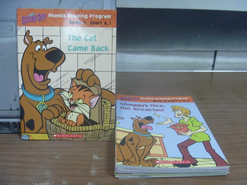 ~書寶 書T3/語言學習_MPH~Scooby doo~Phonics_共12書_附殼