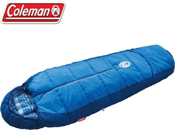 Coleman 小朋友睡袋/露營睡袋/兒童可調式海軍藍睡袋/C4 CM-27270M000 台北山水