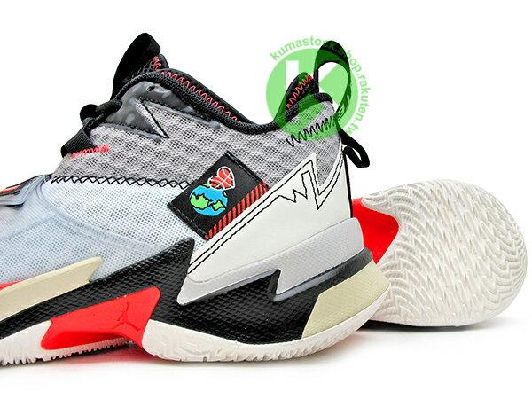 2020 火箭隊 Russell Westbrook 個人簽名鞋款 NIKE AIR JORDAN WHY NOT ZER0.3 PF NOISE 灰白黑 忍者龜 西河 MVP 大三元製造機 前掌 ZOOM TURBO 分割氣墊 MVP 愛地球 UNITE (CD3002-101) 0120 3