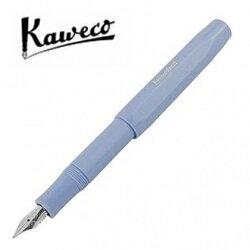 預購商品 德國 KAWECO SKYLINE系列鋼筆 4250278613068 粉藍 筆尖F 限定組 4250278613068 /支