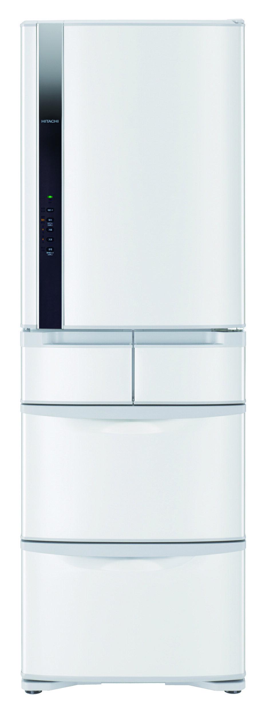 【HITACHI日立】日本原裝變頻420L。五門電冰箱/星燦白(RS42FJ)