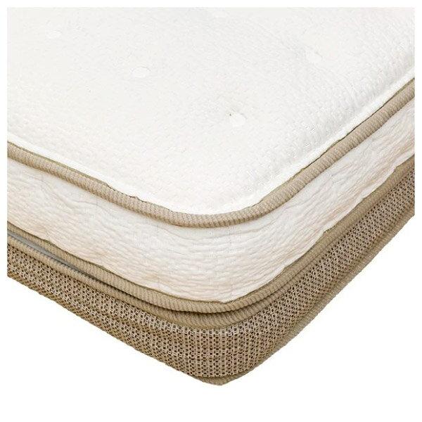 ◎獨立筒彈簧床 可拆式雙層床墊 N-SLEEP P1-CR 雙人加大 NITORI宜得利家居 4