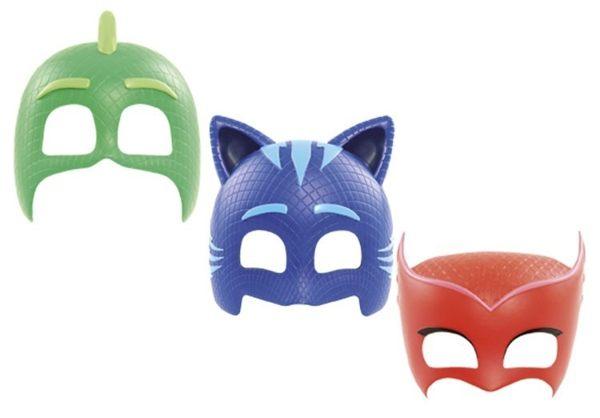 PJMASKS變裝面具-共3款可選睡衣小英雄貓小子飛壁俠貓頭鷹女伯寶行