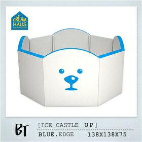 【送市價3960大小三角專用配件組】韓國【CreamHaus】冰雪高牆城堡-2色 2