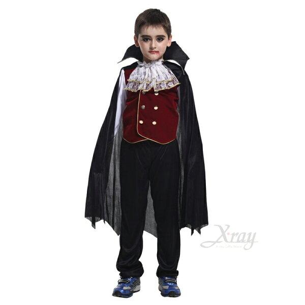 X射線【W652378】亞歷山大吸血鬼伯爵,化妝舞會角色扮演尾牙表演萬聖節聖誕節兒童變裝cosplay