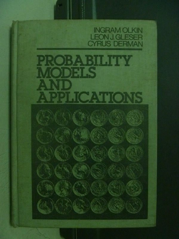 【書寶二手書T7/大學理工醫_OEN】Probability Models and Applications_民71