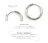 日本CREAM DOT  /  ピアス ステンレス製 低アレルギー フープピアス レディース 大人 上品 エレガント 華奢 シンプル フェミニン ゴールド シルバー ピンクゴールド  /  a03400  /  日本必買 日本樂天直送(1590) 7