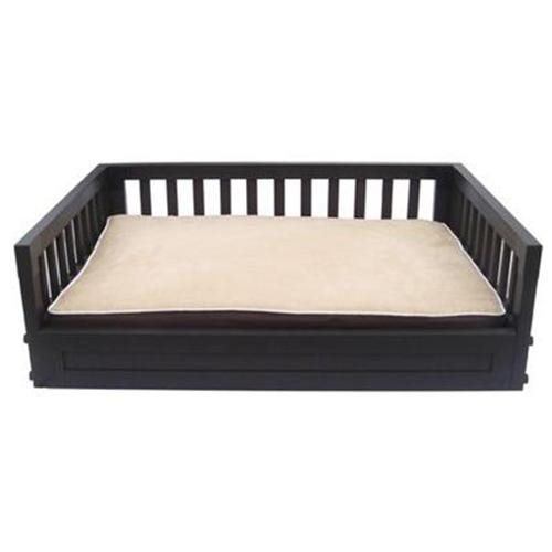 Eco-Concepts Dog Bed - Size: Medium (Up to 50 lbs), Color: Espresso 1