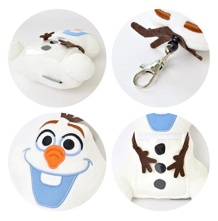 日本迪士尼 Disney Frozen 冰雪奇緣 雪寶 伸縮車票夾 證件夾 。-日本必買 日本樂天代購(2080) 3