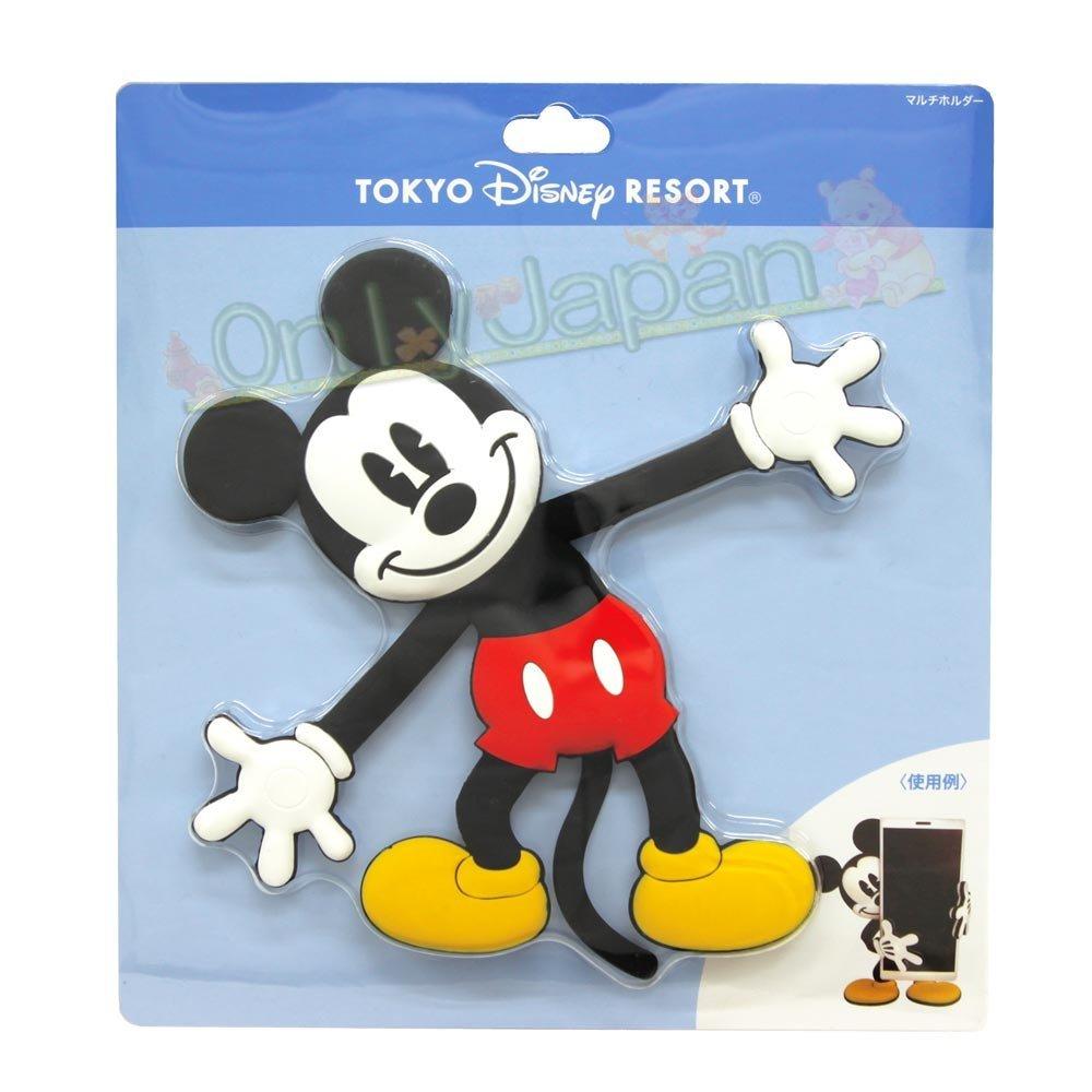 18121500063 樂園限定多功能可折收納座架-MK 米奇 米老鼠 日本限定 日本東京迪士尼樂園帶回 收納架 手機架 多功能架 真愛日本