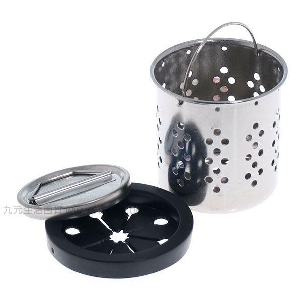 【九元生活百貨】三合一不鏽鋼水槽提籠/小 水塞 水槽提籃