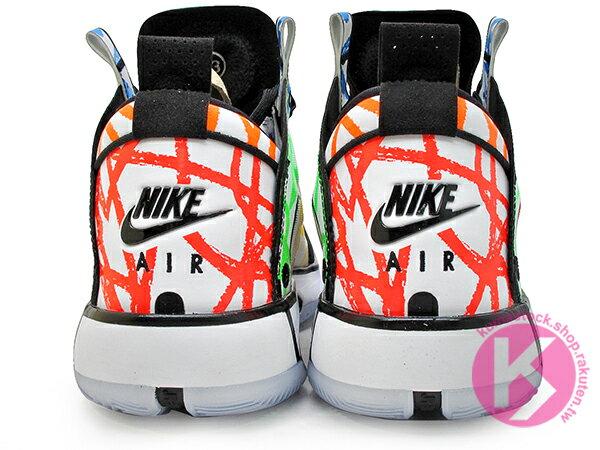 2020 史上最輕 限定販售 NIKE AIR JORDAN XXXIV 34 ZION PE WILLIAMSON COLORING BOOK 繪本 塗鴉 技安 胖虎 新一代 ECLIPSE PLATE 避震科技傳導 前、後 ZOOM 籃球鞋 AJ (DA1897-100) ! 4