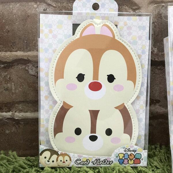 真愛日本:【真愛日本】17111600034TSUM票卡包-奇奇蒂蒂迪士尼花栗鼠松鼠票卡夾證件夾日用品居家生活