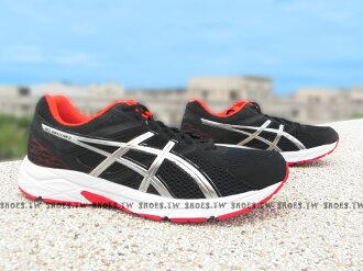 《超值6折》 Shoestw【T5F4N-9091】ASICS 亞瑟士 慢跑鞋 GEL CONTEND3 黑銀 男生