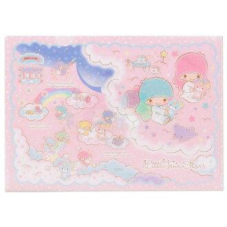 【真愛日本】15070300001A4資料夾2入-小熊格子 三麗鷗家族 Kikilala 雙子星 收納夾 文具夾