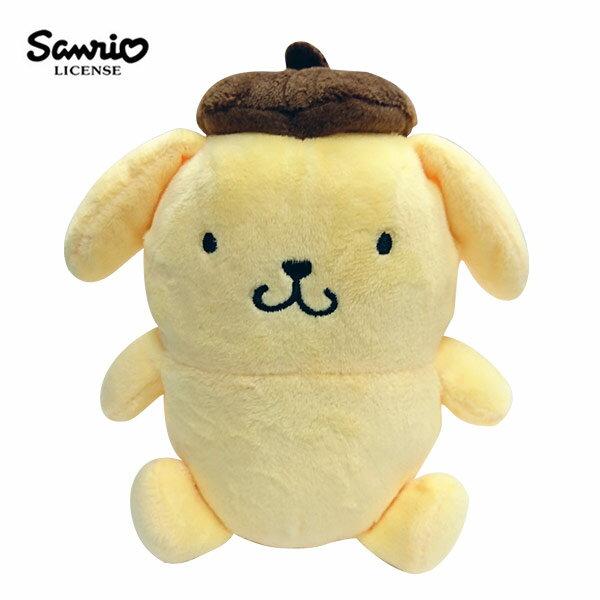 【正版授權】布丁狗 豆豆絨毛 玩偶 娃娃 公仔 Pom Pom Purin 拍照玩偶 三麗鷗 Sanrio - 006197