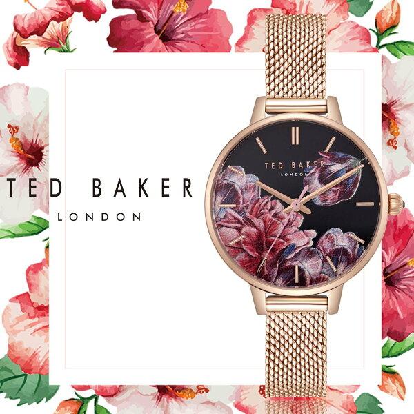 TEDBAKER英國設計師品牌薇薇安的秘密花園時尚淑女腕錶TE50070002公司貨