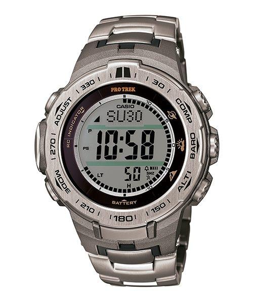 CASIO PRO TREK 登山錶 PRW-3100T-7DR全方位電波專業登山腕錶/47mm