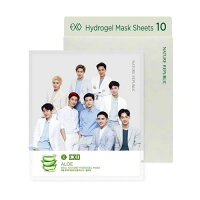 Nature Republic EXO Edition Real Nature Hydrogel Mask 10pc set