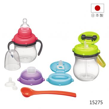 【Combi 】 康貝 葫蘆喝水訓練杯禮盒